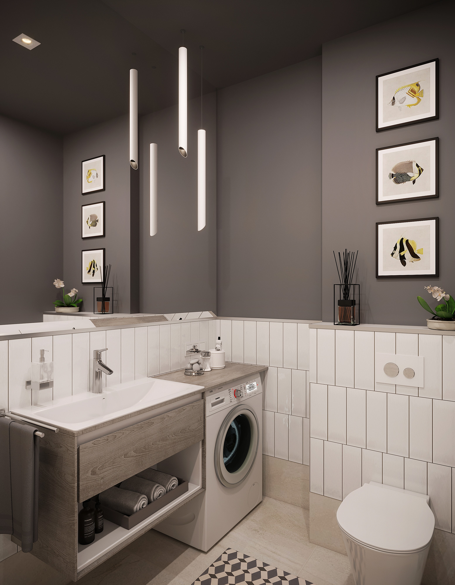 Mednieku 5 3d interior render visualization 15