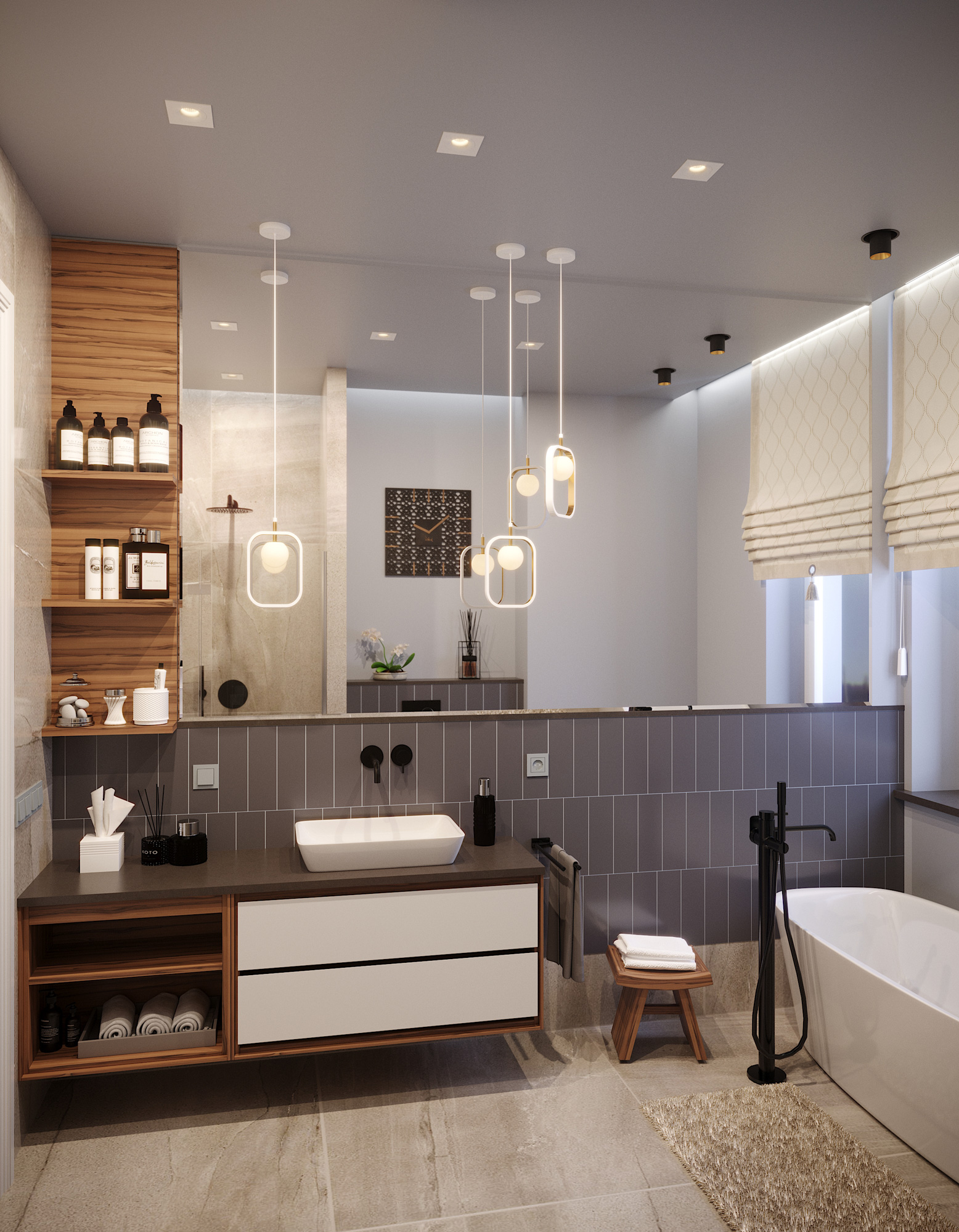 Mednieku 5 3d interior render visualization 01