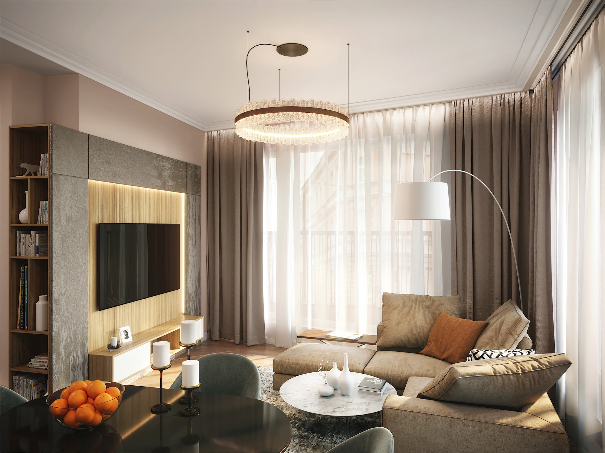 Mednieku 5 3d interior render visualization 05