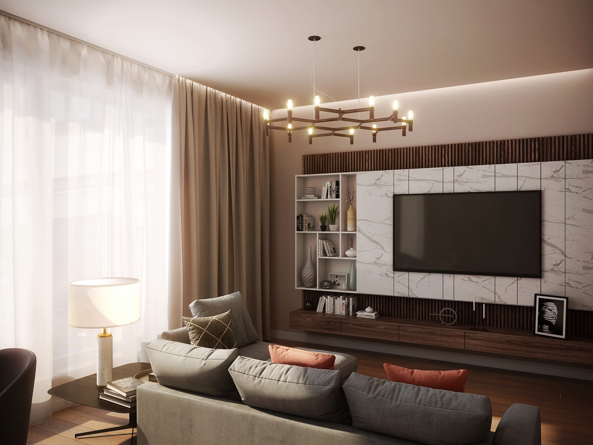 Mednieku 5 3d interior render visualization 09